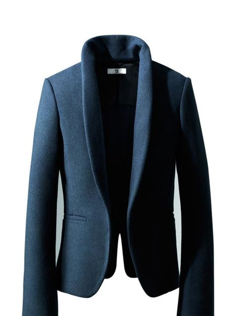"<p> </p><p>Jil Sander's latest collection for Uniqlo has just hit stores and among the covetable winter coats are some great office-appropriate blazers. <a href=""http://shop.uniqlo.com/uk/store/clothing/plusj/women/"">+J Uniqlo</a> navy blazer, £59.99</p>"