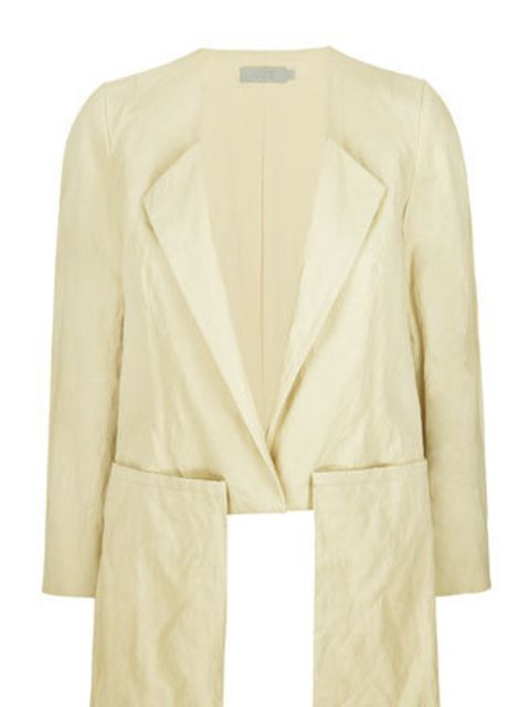 <p>If you can't afford high-end brands like Jil Sander, then head to Cos for your wardrobe staples. This blazer's half-collar detail and drop pockets belie its high street price tag.</p><p>Blazer, £89 by Cos</p>