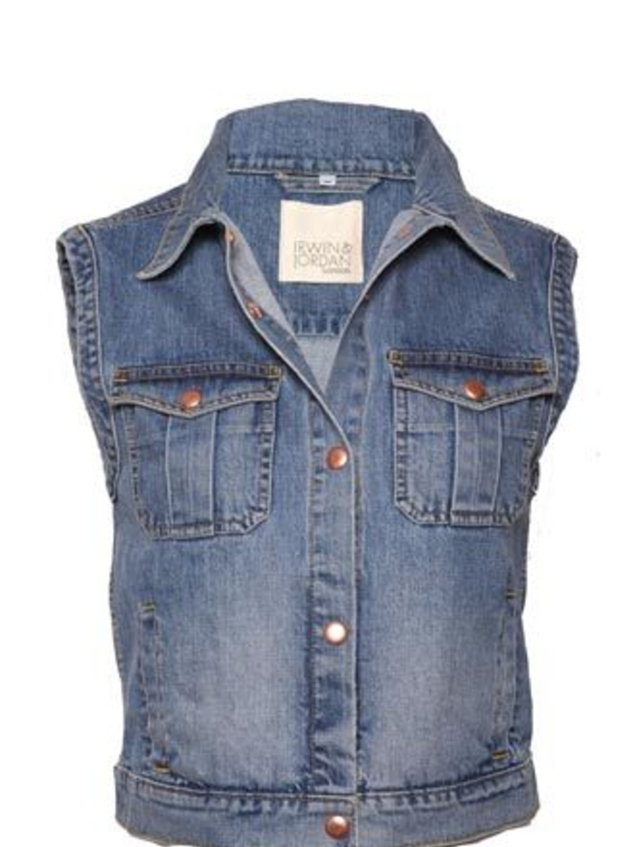 <p>A denim waistcoat is one of the most versatile pieces of clothing you will ever own. Some of its possibilities: layer it under smart jackets or over pretty dresses to give off a more casual vibe; team with jeans to nail the double denim trend; or wear