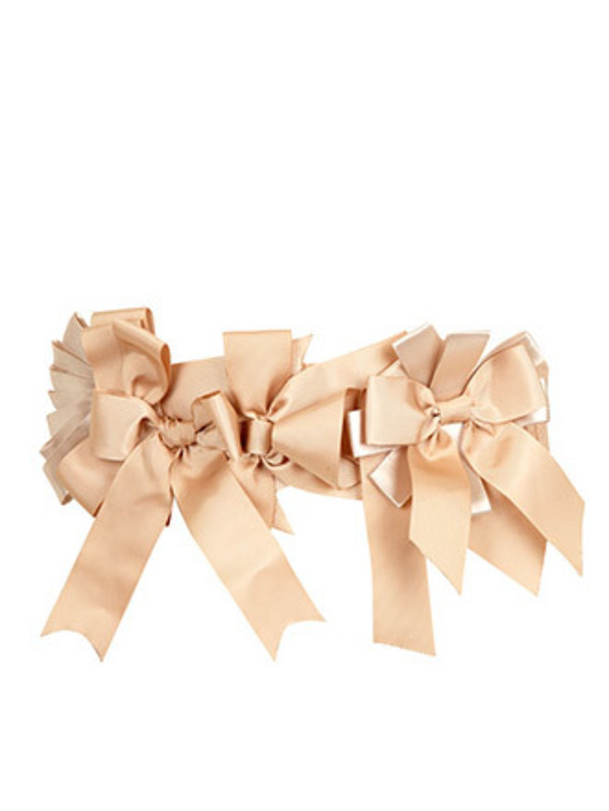 "<p>River Island's belts are always a bit more unusual than other high street offerings; this ribbon belt is no exception. Use it to add an extra pretty edge to all your dresses.</p><p>Belt, £19.99 by <a href=""http://xml.riverisland.com/flash/content.php"">"