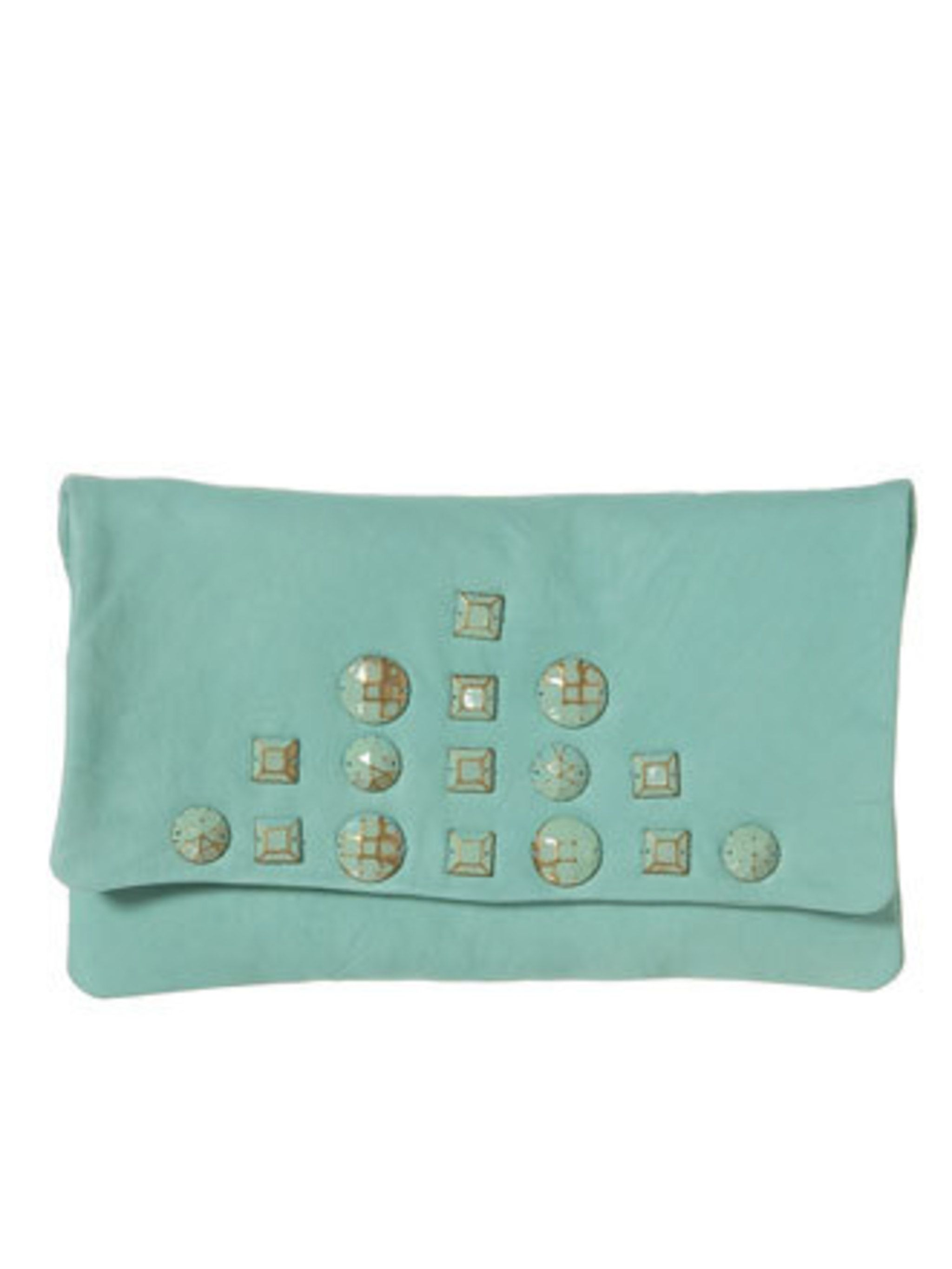 """<p>It's time to dig out your summer accessories. This clutch will give you something new and super summery to proudly tote around town.</p><p>Leather clutch, £38 by <a href=""""http://www.topshop.com/webapp/wcs/stores/servlet/ProductDisplay?beginIndex=0&amp&#x3B;"""