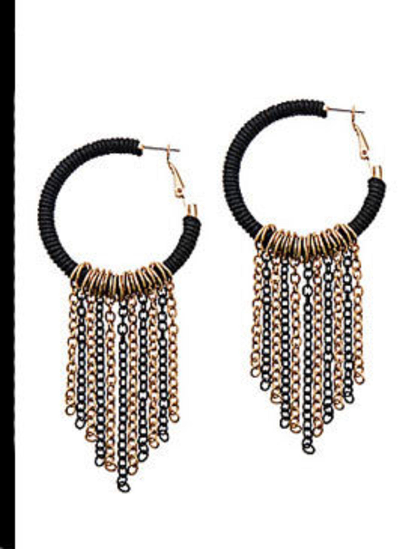"""<p>Earrings, £10 by <a href=""""http://www.aldoshoes.com/uk/accessories/womens/earrings/76563985-longueville/82"""">Aldo</a></p>"""
