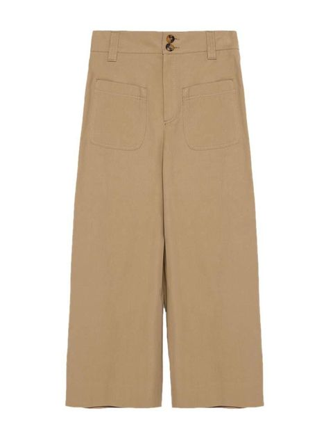 "<p>Fashion Assistant Charlie Gowans-Eglinton will tuck a breton stripe into these cropped trousers.</p>  <p><a href=""http://www.zara.com/uk/en/collection-aw15/woman/studio/studio-pocket-detail-cropped-trousers-c476001p2775618.html"" target=""_blank"">Zara</a"