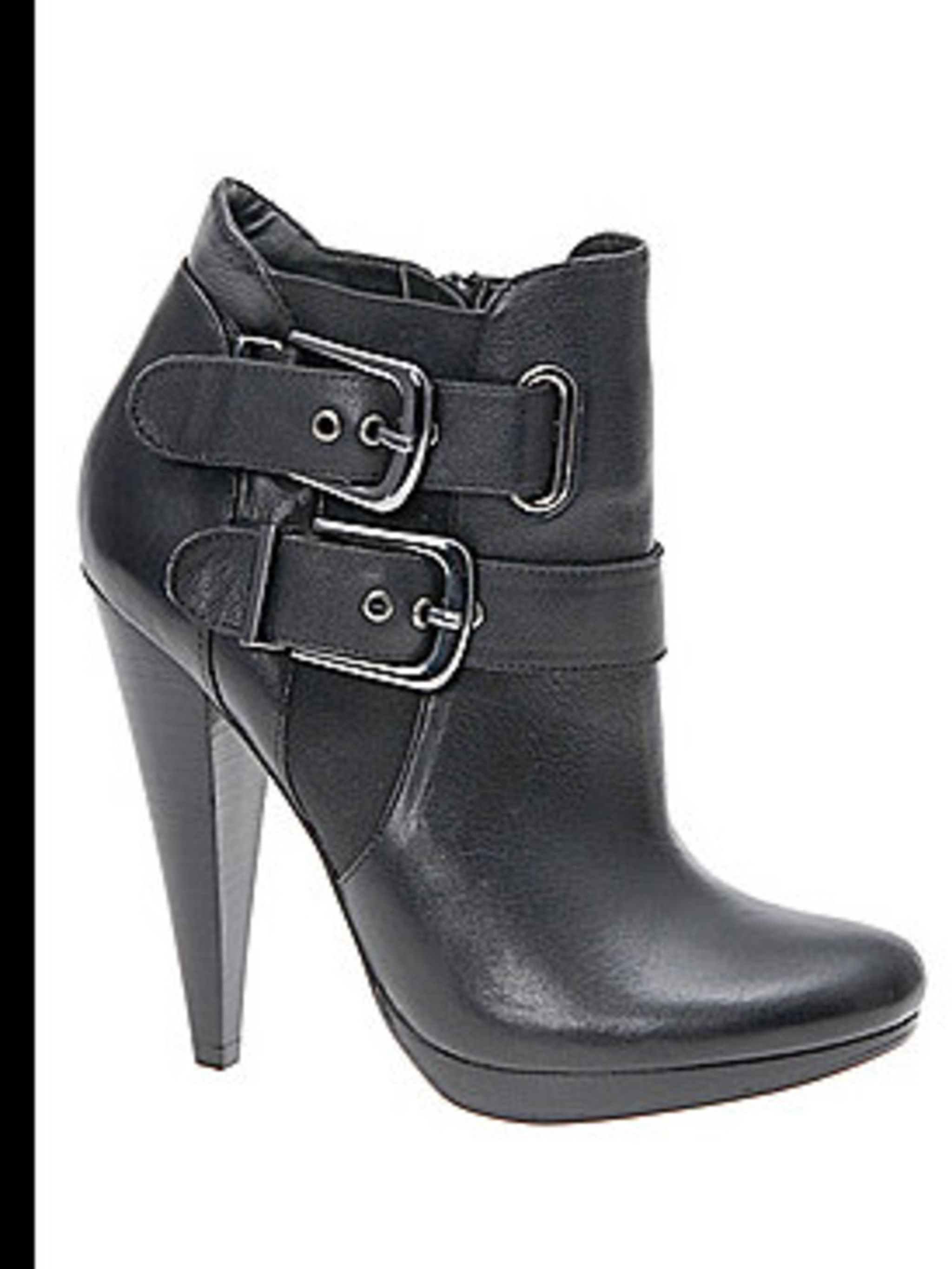 """<p>Leather ankle boots, £85 by <a href=""""http://www.aldoshoes.com/uk/women/boots/ankle-boots/75977764-huckeby/97"""">Aldo</a></p>"""