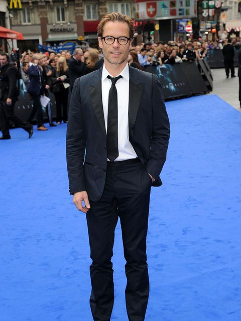 <p>Guy Pearce wearing Lanvin at the Prometheus premiere in London</p>