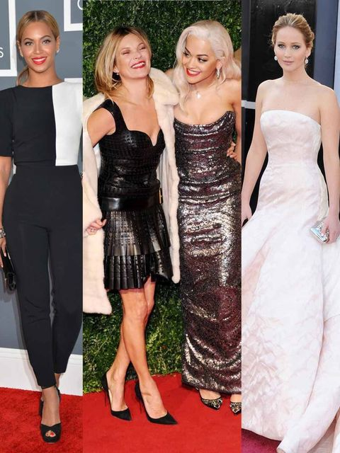 """<p>It's been a year of glittering <a href=""""http://www.elleuk.com/star-style/red-carpet"""">awards ceremonies</a>, gilded film festivals and dazzling premieres, and with each unfurling red carpet came a smattering of stars, smouldering in gowns by the season'"""