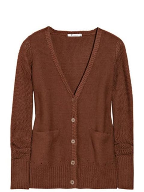 "<p> </p><p>Every wardrobe needs cool-girl separates so make Alexander Wang's new diffusion knitwear your staple. T by Alexander Wang cardigan, £180, at <a href=""http://www.net-a-porter.com/product/104118"">Net-a-Porter </a> </p>"