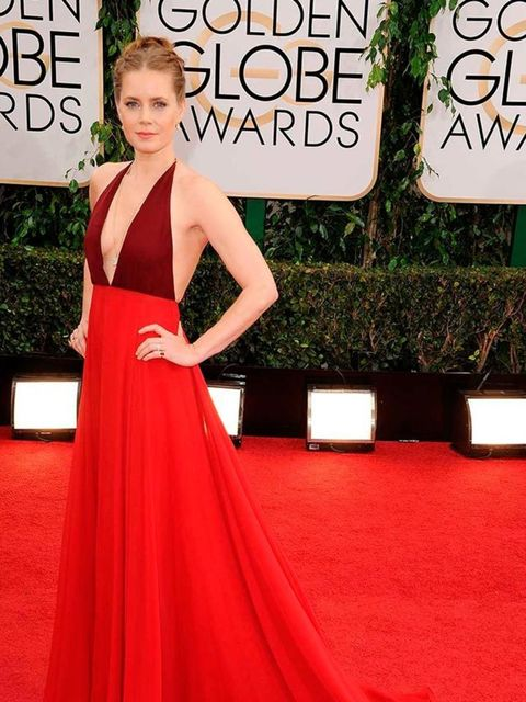 "<p><a href=""http://www.elleuk.com/elle-tv/cover-stars/elle-magazine/amy-adams-elle-behind-the-cover-video2"">Amy Adams</a> wears Valentino to the 71st Annual Golden Globe Awards, 2014. </p>"