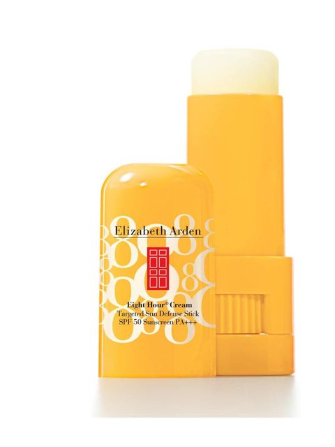 """<p><a href=""""http://www.feelunique.com/p/Elizabeth-Arden-Eight-Hour-Cream-Targeted-Sun-Defense-Stick-SPF-50-High-Protection-5-8g"""">Elizabeth Arden SPF 50 Face Stick, £12.75</a></p><p>SPF is a must if you want to come back from your weekend with a sun kissed"""