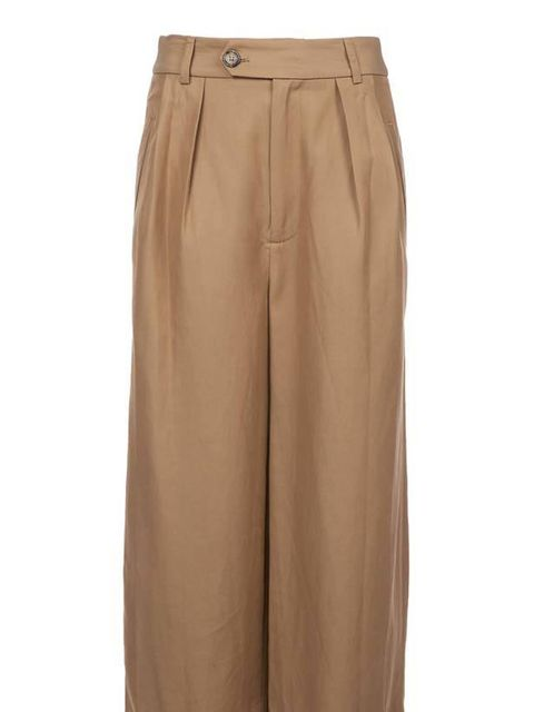 "<p>Marc by Marc Jacobs camel palazzo pants, £290, at <a href=""http://www.farfetch.com/shopping/women/search/schid-70616c617a7a6f/item10069450.aspx"">Farfetch</a></p>"