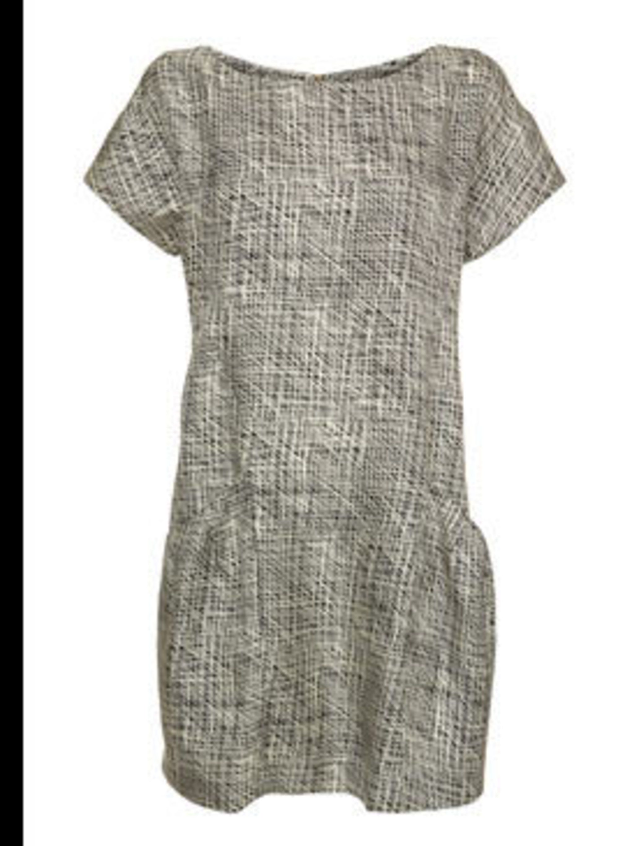"<p>Dress, £110 by <a href=""http://www.whistles.co.uk/pws/Home.ice"">Whistles</a></p>"