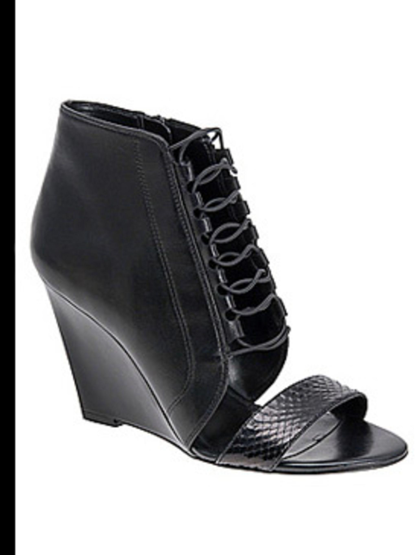 "<p>Shoes, £70 by <a href=""http://www.aldoshoes.com/uk/women/heels/peep-toe/74683086-tumlin/97"">Aldo</a></p>"
