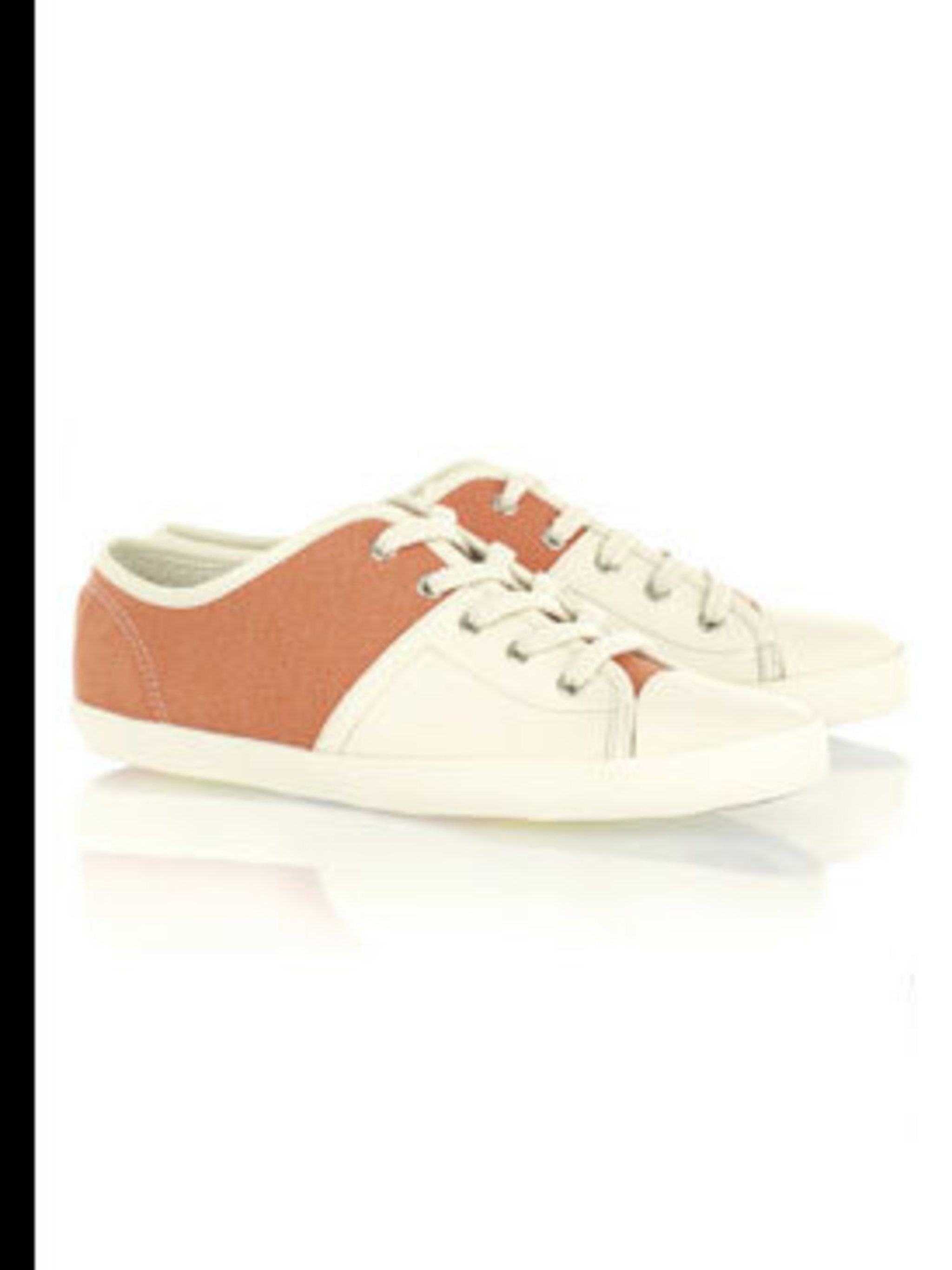 "<p>Plimsolls, £108 by See by Chloe at <a href=""http://www.net-a-porter.com/product/38721"">Net-a-Porter</a></p>"
