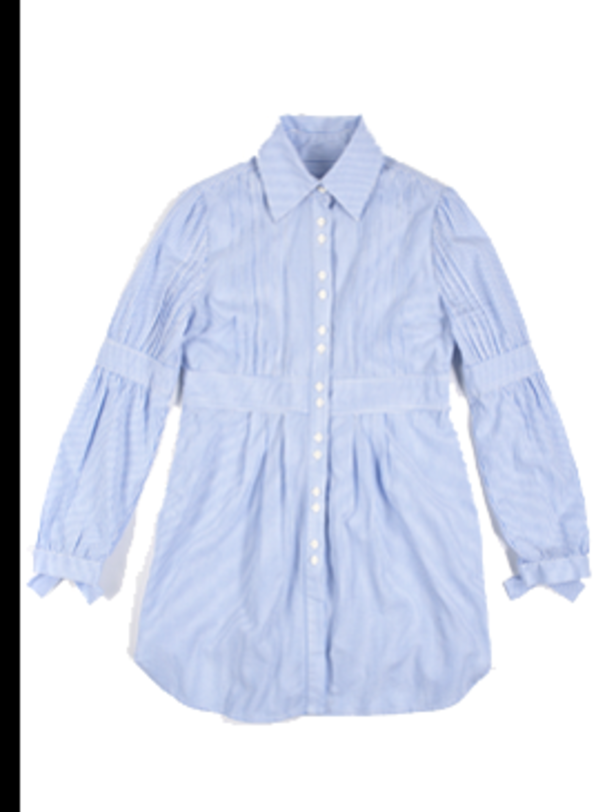 <p>Stripe shirt dress, £85 from Ted Baker for stockists call 0845 130 4278</p>