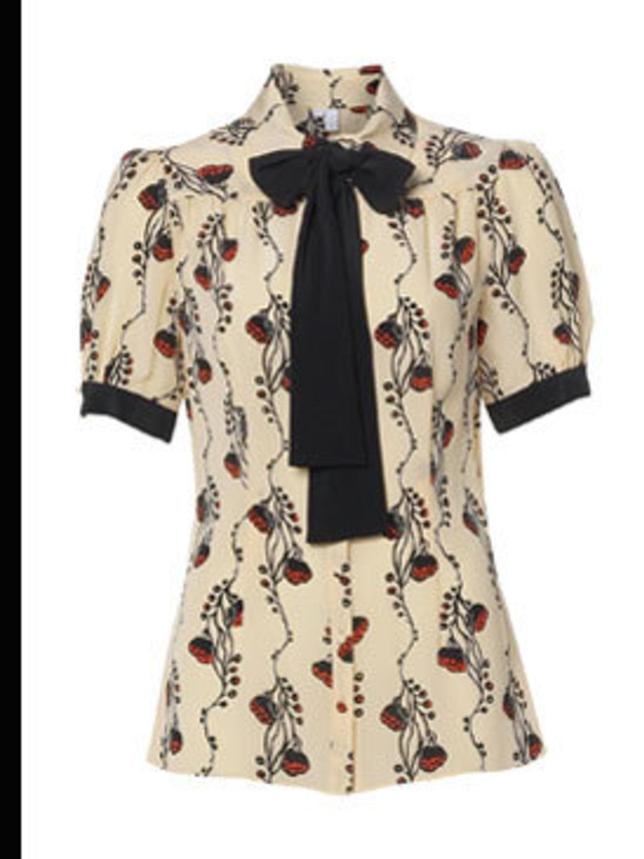 <p>Silk printed blouse, £45 from Untold at House of Fraser for stockists call 0870 1607270</p>