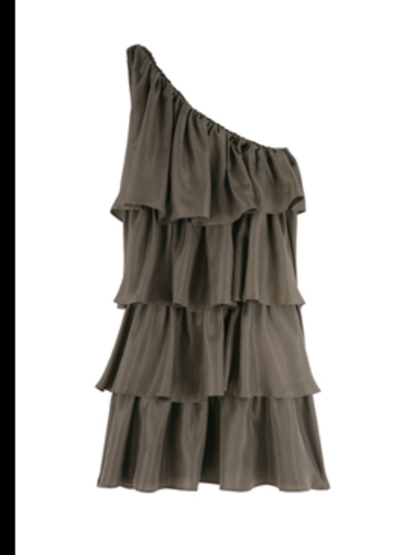 "<p>Dress, £151 by <a href=""http://www.my-wardrobe.com/paul-joe-sister/athenes-asymmetrical-tiered-frill-dress-by-paul-joe-sister"">Paul & Joe Sister</a></p>"