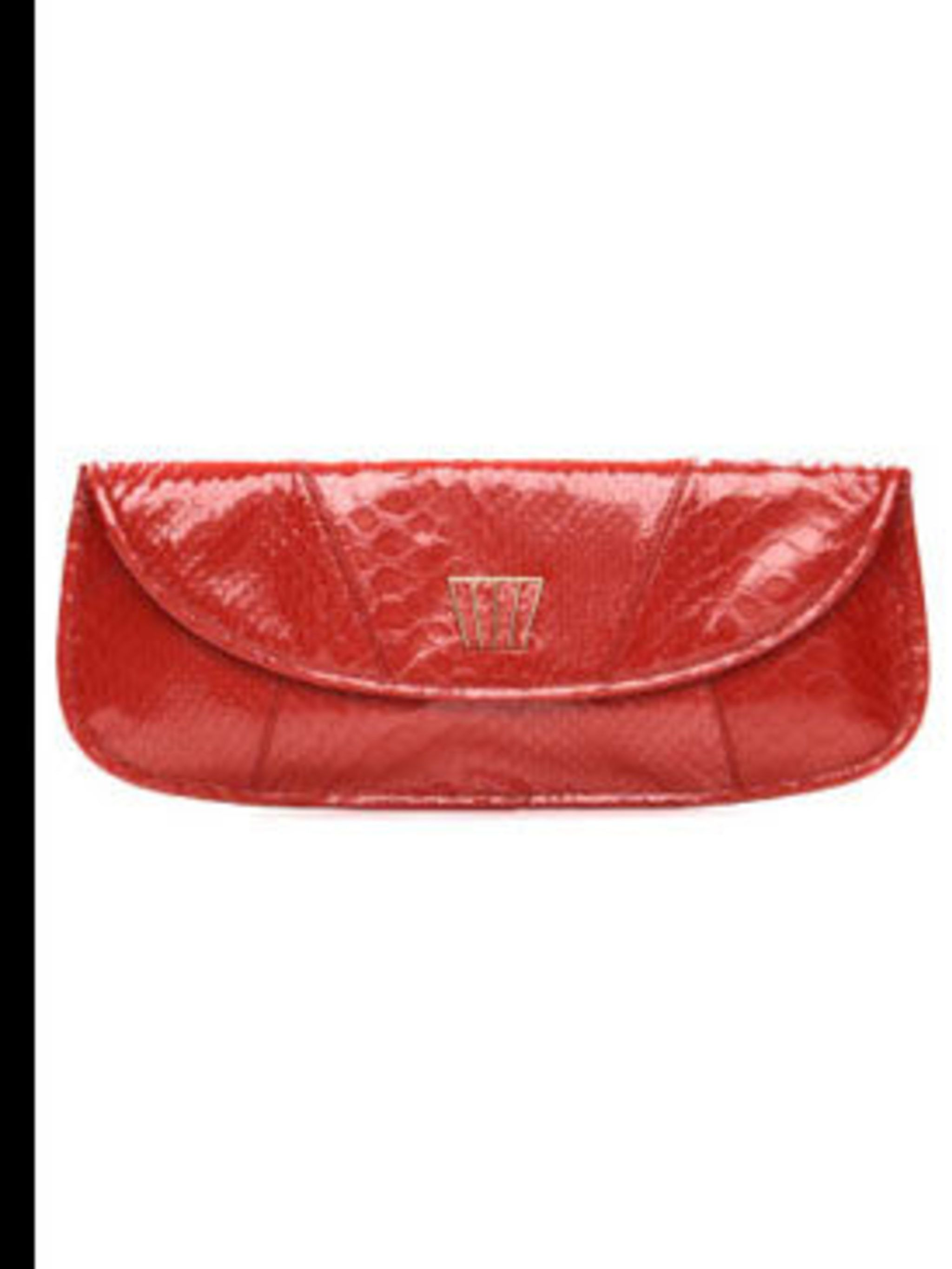 """<p>Oversize clutch, £130 by <a href=""""http://www.tedbaker.com/shop.do?cID=607&pID=6069"""">Ted Baker</a></p>"""