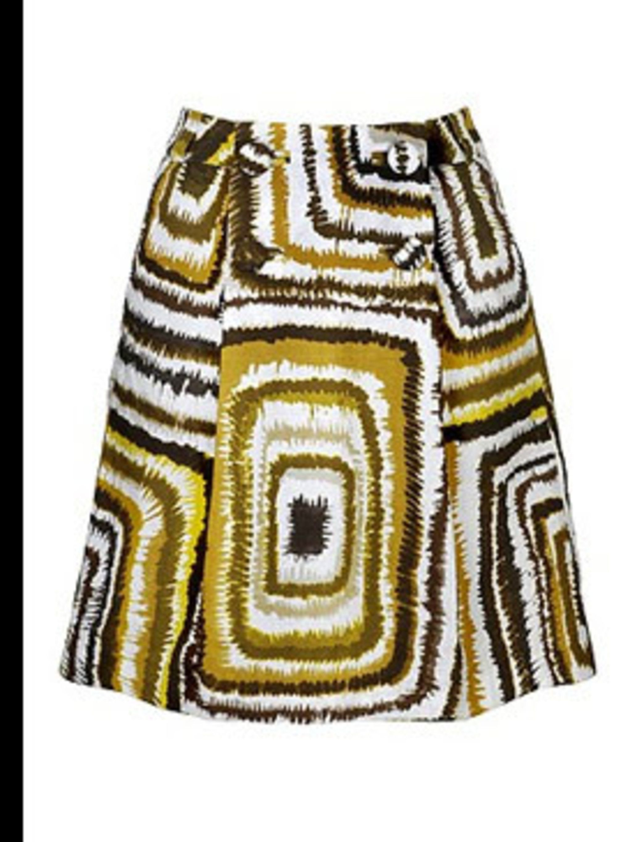 "<p>Square patterned skirt £29.99 from <a href=""http://www.hm.com"">H&amp&#x3B;M</a>