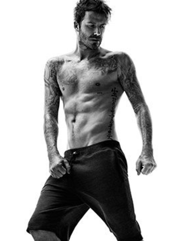 <p>David Beckham for H&M Bodywear, autumn 2014</p>