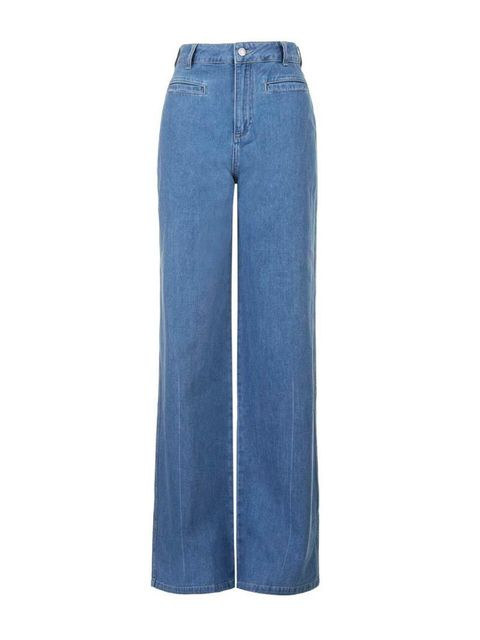 """<p><a href=""""http://www.topshop.com/en/tsuk/product/clothing-427/jeans-446/flared-jeans-4243137/moto-miller-flared-jeans-4233839?bi=1&ps=20"""" target=""""_blank"""">Topshop</a> jeans, £40</p>"""