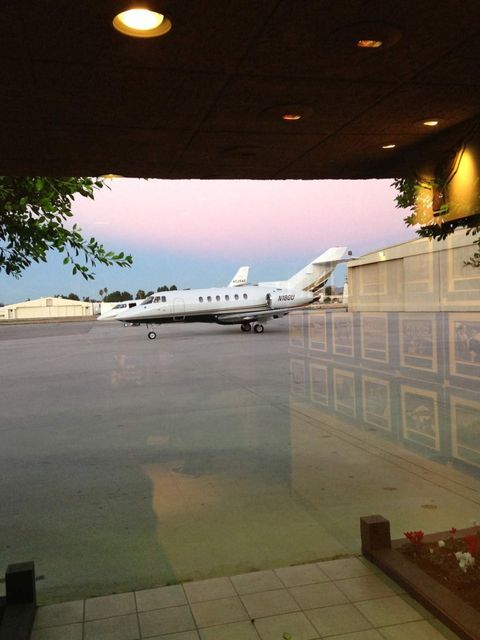 <p>Our carriage awaits. A six armchair, one sofa private jet. As you do. Why drive when you can fly?</p>