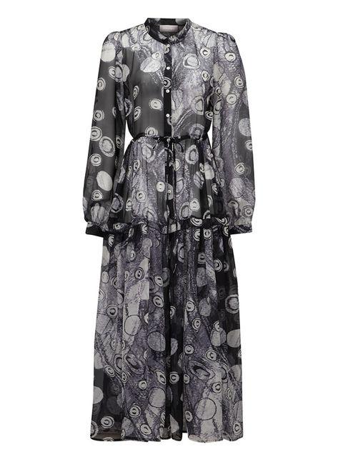 "<p><a href=""http://www.atterley.com/galaxy-print-maxi-dress.html"" target=""_blank"">Atterley</a> dress, £115</p>"