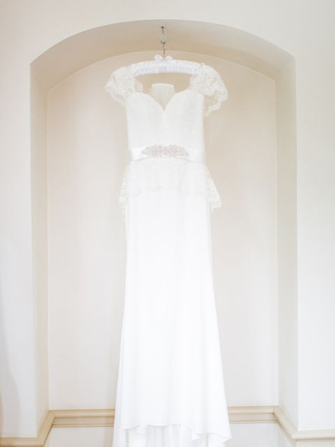 "<p>I found my dream dress, the 'Sunrose' at <a href=""http://www.suzanneneville.com/"" target=""_blank"">Suzanne Neville</a>, Knightsbridge. It was one of the first dresses I tried on, but couldn't commit to it so early on.</p>  <p>After numerous fittings, I"