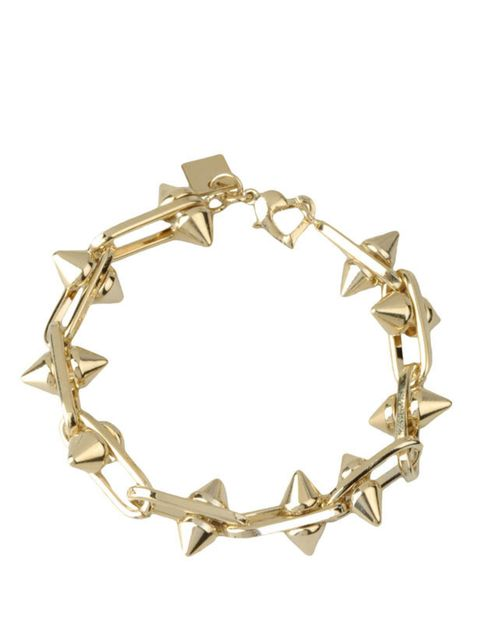 "<p>Maria Francesca Pepe brass bracelet, £70, at <a href=""http://www.thecorner.com/item/YOOX/MARIA+FRANCESCA+PEPE/dept/tcaccessoriesw/tskay/582B0E9B/rr/1/cod10/50123478GH/sts/sr_tcaccessoriesw3"">thecorner.com</a></p>"