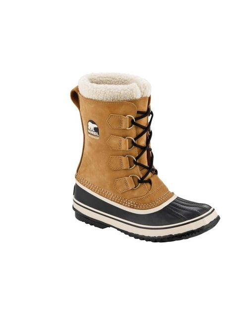 """<p>Canadian brand Sorel are boot experts, and this low-key design is top of our list.</p><p><a href=""""http://www.sorelfootwear.co.uk/on/demandware.store/Sites-Sorel_UK-Site/en_GB/Product-Show?pid=NL1645"""">Sorel</a> boots, £125</p>"""