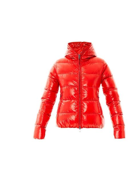 """<p>Stand out from the snow in this tomato-red padded jacket.</p><p>Duvetica jacket, £340 at <a href=""""http://www.matchesfashion.com/product/167224"""">MatchesFashion.com</a></p>"""