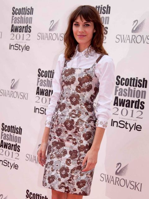 <p>Alexa Chung in Christopher Kane</p>