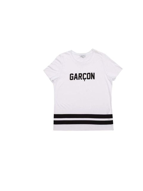 "<p>Introducing Pop.see.cul, our new go-to brand for slogan tees and sweatshirts; Fashion Production & Bookings Editor Rosie Bendandi has her eye on this monochrome number.</p><p><a href=""http://popseecul.com/product/garcon/"">Pop.see.cul</a> t-shirt, £50</"