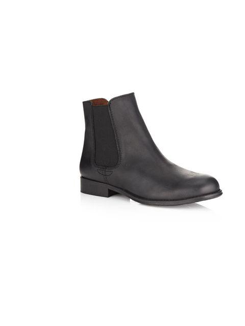 """<p>Kurt Geiger 'Sharky' Chelsea boot, £125, at <a href=""""http://www.harrods.com/product/kurt-geiger/sharky-chelsea-boot/000000000002689823?dept=az&cat1=b-kurt-geiger&cat2=b-kurt-geiger-flats"""">Harrods.com</a></p>"""
