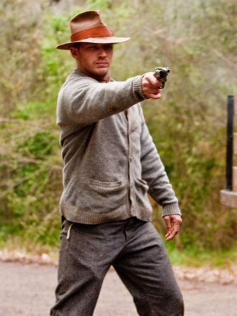<p>Tom Hardy in Lawless</p>