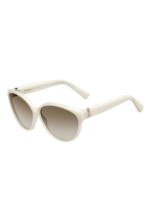<p>Yves Saint Laurent's new sunglasses range has launched just in time for high summer. Invest in this killer pair to off-set a great tan and punctuate the season's bold colours…Yves Saint Laurent cream sunglasses, £219, for stockists call 0207 235 6706</
