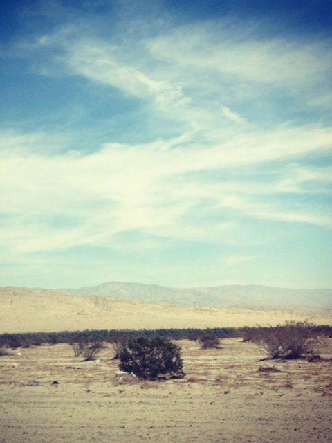 <p>The unforgettable drive to Coachella 2013 through the California desert.</p>