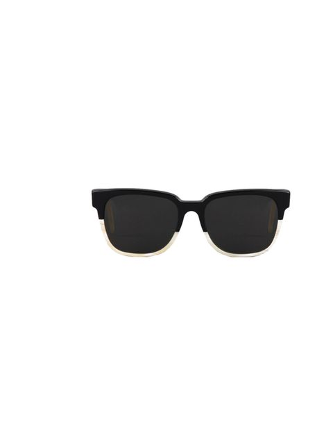 "<p>RetroSuperFuture 'People' monochrome sunglasses, £139, at <a href=""http://goodhoodstore.com/store/5923"">Goodhood</a></p>"