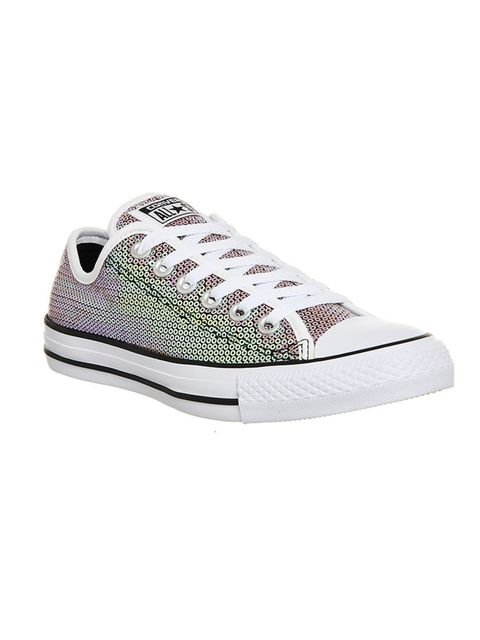 """<p>Perfect for running around in, who said plimsoles have to be basic?</p>  <p>Trainers, £54.99, Converse at <a href=""""http://www.office.co.uk/view/product/office_catalog/5,21/2413193890"""" target=""""_blank"""">Office</a></p>"""