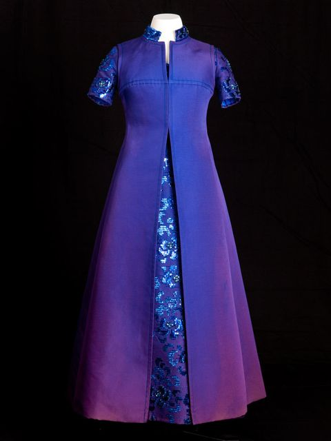 <p>Marc Bohan for Christian Dior coat worn by Princess Margaret in 1977</p>