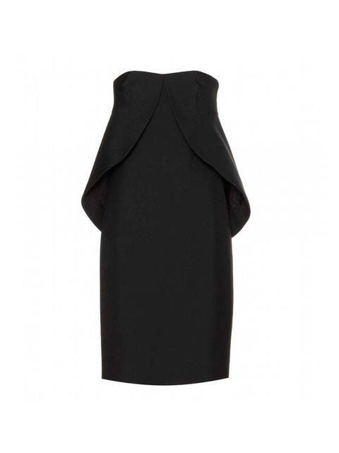 """<p>This Balenciaga woven strapless dress is £995 at <a href=""""http://www.mytheresa.com/en-gb/woven-strapless-dress-284190.html"""">My Theresa</a>.</p>"""