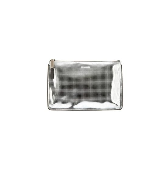 "<p>Jil Sander metallic clutch, £274, at <a href=""http://www.farfetch.com/shopping/women/jil-sander-metallic-clutch-item-10244155.aspx"">Farfetch</a></p>"