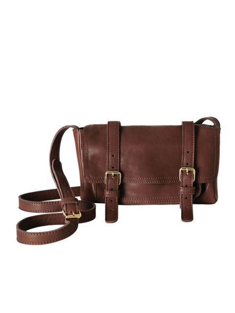 <p>COS mini leather satchel, £89, for stockists call 0207 478 0400 </p>