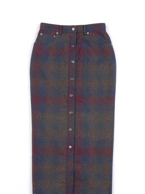 """<p>Pendleton meets Opening Ceremony tartan midi skirt, £222, at <a href=""""http://goodhoodstore.com/?page=51&id=1502&type=womens"""">Goodhood</a></p>"""