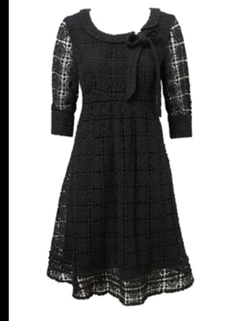 <p>Dress, £85.00 from Wearhouse. For stockists call 0870 122 8813</p>