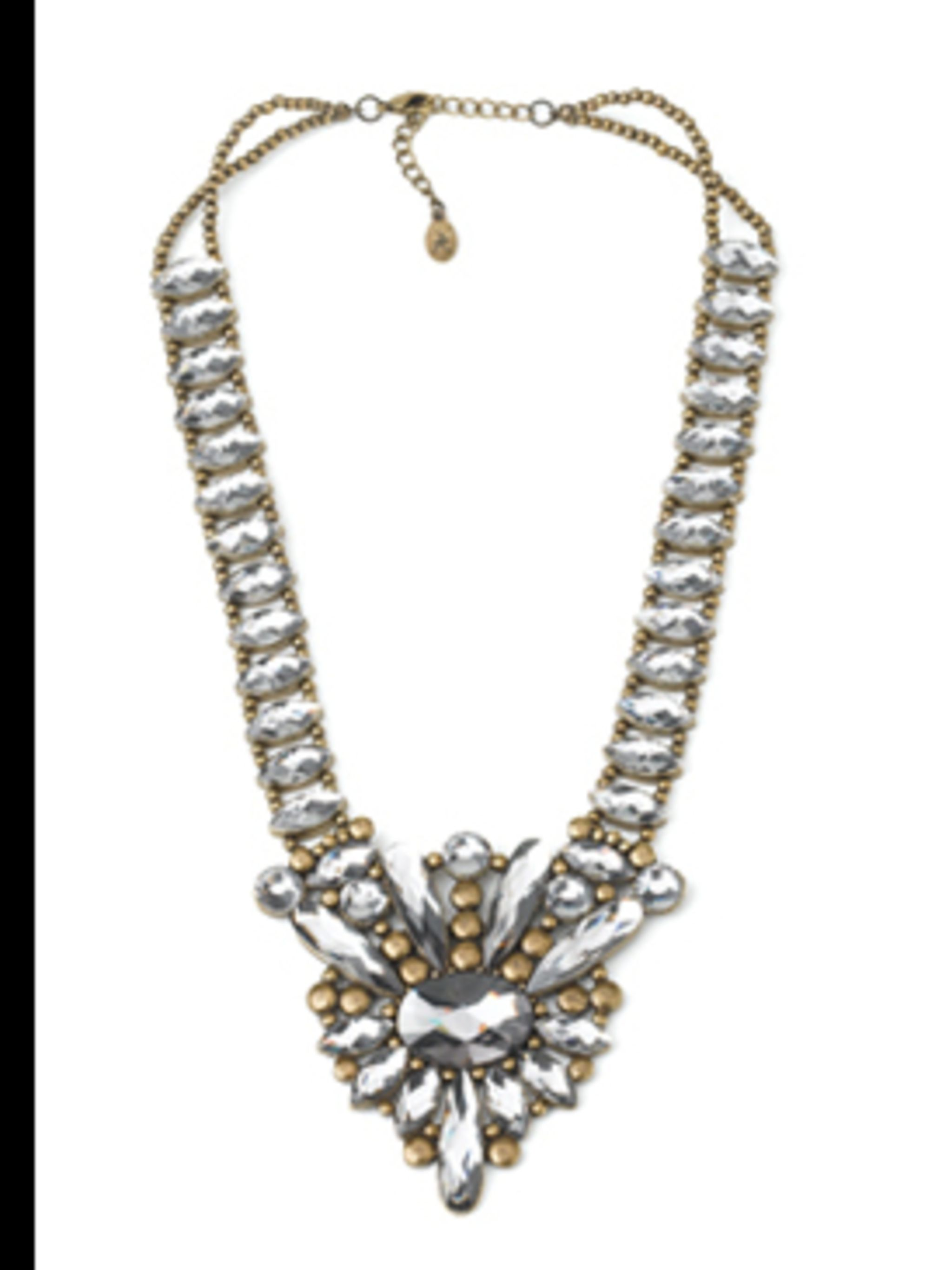 """<p>Statement Necklace, £25 by <a href=""""http://www.monsoon.co.uk/icat/accessorize"""">Accessorize</a></p>"""