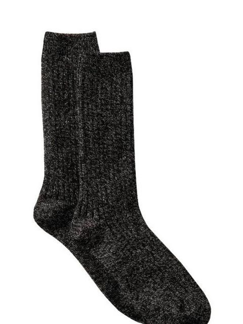 "<p><a href=""http://www.gap.eu/browse/product.do?cid=57589&amp&#x3B;vid=1&amp&#x3B;pid=796849"">Gap</a> sparkly ribbed socks, £5</p>"