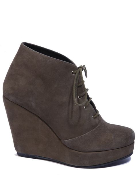 """<p><a href=""""http://www.bstorelondon.com/shopping/women/boots/items.aspx"""">b store</a> wedge ankle boots, £255</p>"""