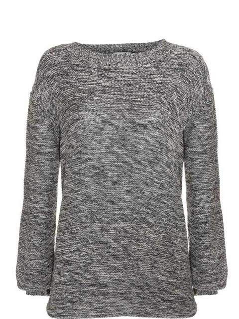 <p>Upper 5th grey sweater, £59, for stockists call 0207 586 4512 </p>