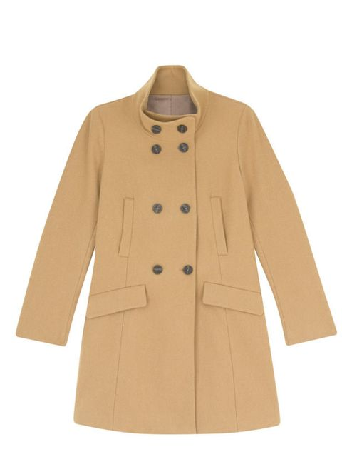 "<p><a href=""http://shop.uniqlo.com/uk/goods/066213"">Uniqlo</a> wool stand collar coat, £79.99</p>"