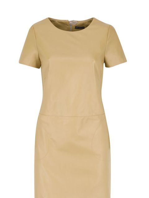 <p> </p><p>Nail two trends in one with this camel leather dress. Real leather at a high street price, this is sure to sell out fast… Marks & Spencer leather dress, £149, for stockists call 0845 302 1234</p>